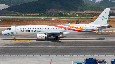 A picture of B3242 - Embraer E190LR - Colorful GuiZhou Airlines - © LingFeng