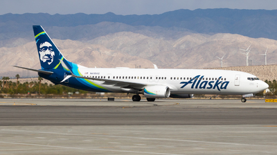 A picture of N419AS - Boeing 737990(ER) - Alaska Airlines - © Sean Asay