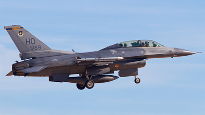 88-0159 - General Dynamics F-16D Fighting Falcon - United States - US Air Force (USAF)
