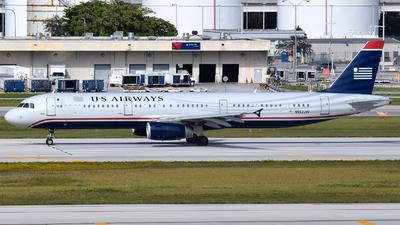 N552UW - Airbus A321-231 - US Airways