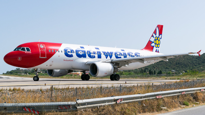 A picture of HBIJW - Airbus A320214 - Edelweiss Air - © Marco Macca