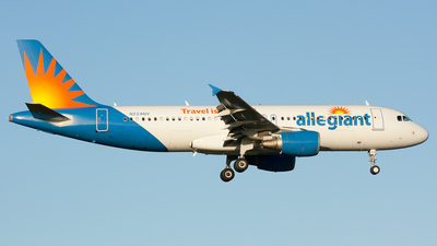 A picture of N224NV - Airbus A320214 - Allegiant Air - © Ozell V. Stephens Jr.