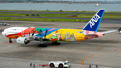 JA741A - Boeing 777-281(ER) - All Nippon Airways (ANA)