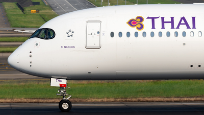 HS-THC - Airbus A350-941 - Thai Airways International