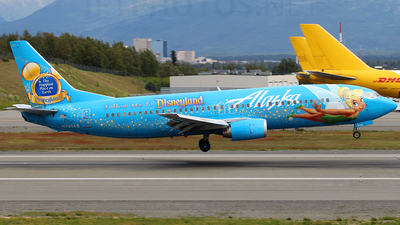 N791AS - Boeing 737-490 - Alaska Airlines