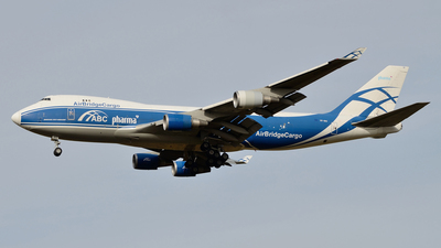VP-BIG - Boeing 747-46NERF - Air Bridge Cargo