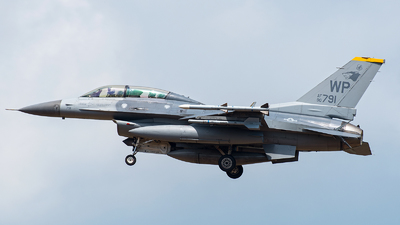 90-0791 - General Dynamics F-16D Fighting Falcon - United States - US Air Force (USAF)