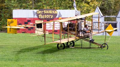 N4124A - Curtiss D Pusher - Old Rhinebeck Aerodrome Museum
