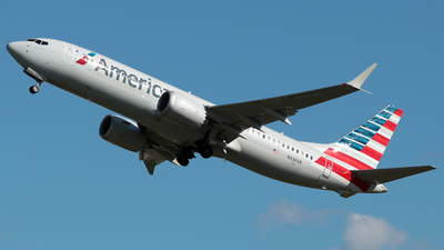 A picture of N336SR - Boeing 737 MAX 8 - American Airlines - © William Suárez Carrasquillo