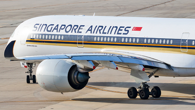 9V-SMR - Airbus A350-941 - Singapore Airlines