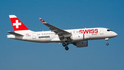 C-GWXZ - Bombardier CSeries CS100  - Bombardier Aerospace