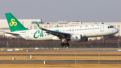 A picture of B8647 - Airbus A320214 - Spring Airlines - © Unbeliverpool