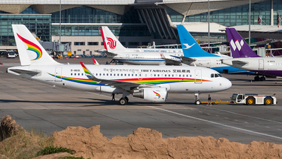 A picture of B8691 - Airbus A319115 - Tibet Airlines - © omkgdz