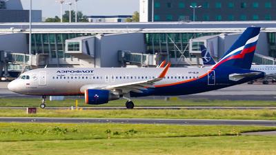 A picture of VPBJW - Airbus A320214 - Aeroflot - © Rafal Pruszkowski