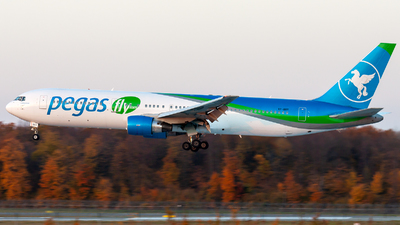A picture of VPBOY - Boeing 7673G5(ER) - Pegas Fly - © Anton Sarmatin