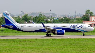 A picture of VTILQ - Airbus A321251NX - IndiGo - © Deepak Meena