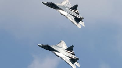 052 - Sukhoi T-50 - Russia - Air Force