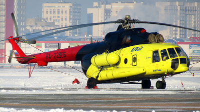 RA-22806 - Mil Mi-8AMT Hip - UTair Aviation