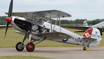 G-CBZP - Hawker Fury I - Private