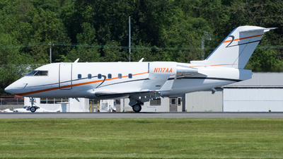 N117AA - Canadair CL-600-2B16 Challenger 604 - Private