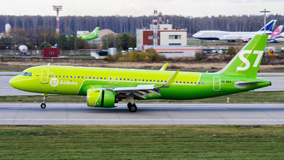 VQ-BRA - Airbus A320-271N - S7 Airlines