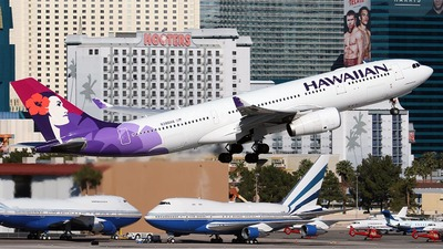 N386HA - Airbus A330-243 - Hawaiian Airlines