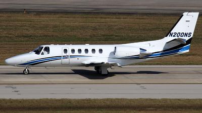 N200NS  - Cessna 550B Citation Bravo - Private