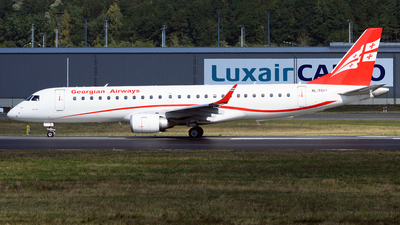 A picture of 4LTGU - Embraer E190AR - Georgian Airways - © PAUL LINK