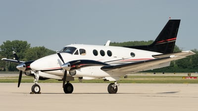 N94HB - Beechcraft C90 King Air - Private