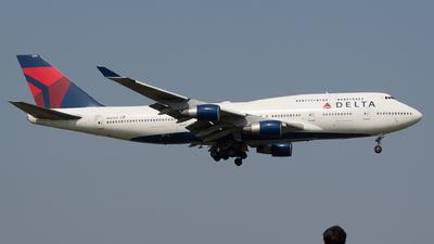 N669US - Boeing 747-451 - Delta Air Lines