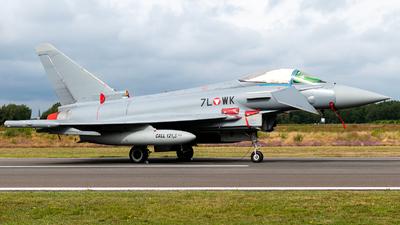 7L-WK - Eurofighter Typhoon EF2000 - Austria - Air Force