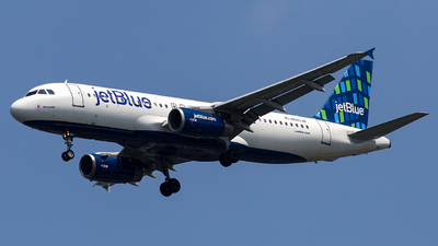 N583JB - Airbus A320-232 - jetBlue Airways