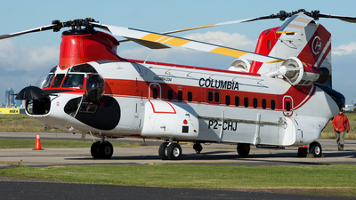 P2-CHJ - Boeing Vertol 234 - Columbia Helicopters