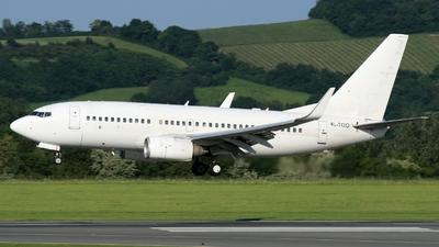 4L-TGO - Boeing 737-7CT - Georgian Airways