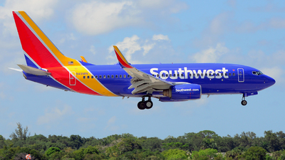 N491WN - Boeing 737-7H4 - Southwest Airlines