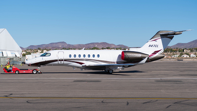 A picture of N47CL - Cessna 700 Citation Longitude - [7000047] - © Taxi_Way_