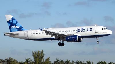 N627JB - Airbus A320-232 - jetBlue Airways