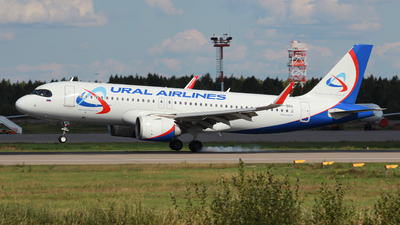 A picture of VPBRX - Airbus A320251N - Ural Airlines - © Belikov Ilya