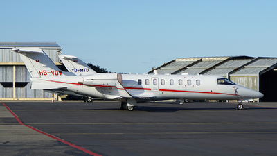 HB-VDW - Bombardier Learjet 45XR - TAG Aviation