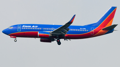YA-KML - Boeing 737-31S - Kam Air