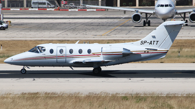 SP-ATT - Hawker Beechcraft 400A - Private