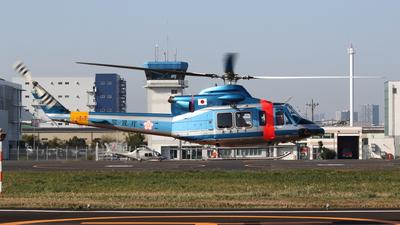 JA17MP - Bell 412EP - Japan - Police