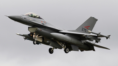 275 - General Dynamics F-16A Fighting Falcon - Norway - Air Force
