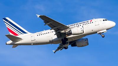 A picture of FGUGQ - Airbus A318111 - Air France - © Inaki Ropero Pipaón