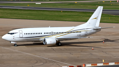 G-MISG - Boeing 737-3L9 - Cello Aviation