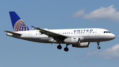 N835UA - Airbus A319-131 - United Airlines