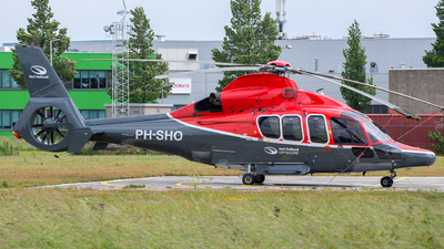 PH-SHO - Eurocopter EC 155B1 Dauphin - Heli Holland