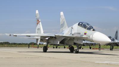 1075 - Sukhoi Su-30MK2 - Venezuela - Air Force