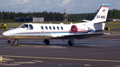 S5-BBL - Cessna 550B Citation Bravo - GIO Business Aviation