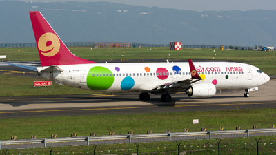 A picture of B208K - Boeing 73786X - 9 Air - © zhangmx969